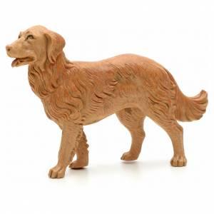 Animales para el pesebre: Perro en pie cm 19 Fontanini