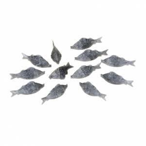 Animales para el pesebre: Pescados para el belén 12 piezas.