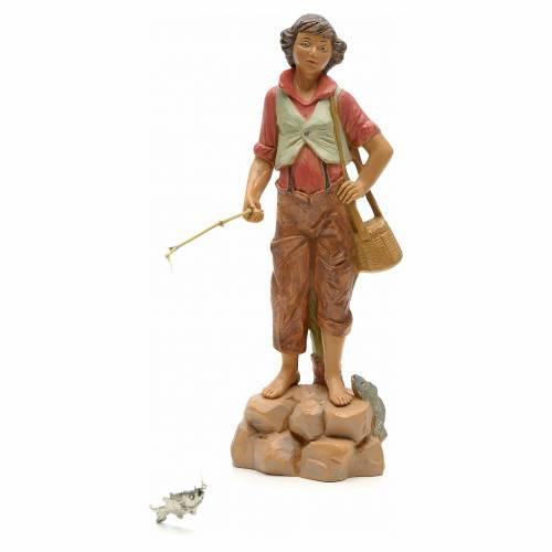 Pescatore di fiume 19 cm Fontanini s1