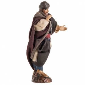 Pesebre Napolitano vendedor con turbante 8cm s2