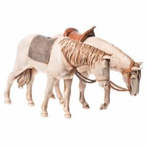 Krippe Moranduzzo: Pferde 2St. 10cm Moranduzzo