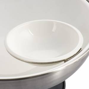 Fuentes bautismales: Pila Bautismal de mesa en bronce plateado