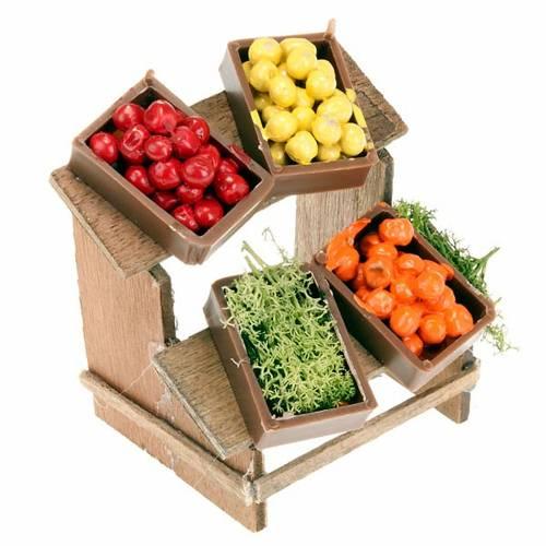 Planche marché 4 cagettes de fruits crèche s1