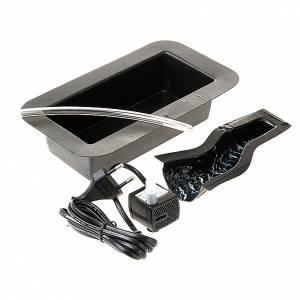 Pompe acqua presepe e motorini: Pompa acqua 2.5w presepe, vasca e cascata 17 cm