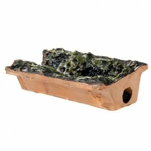 Cascata presepe 10 cm con pompa acqua 2.5W e ruscello s2