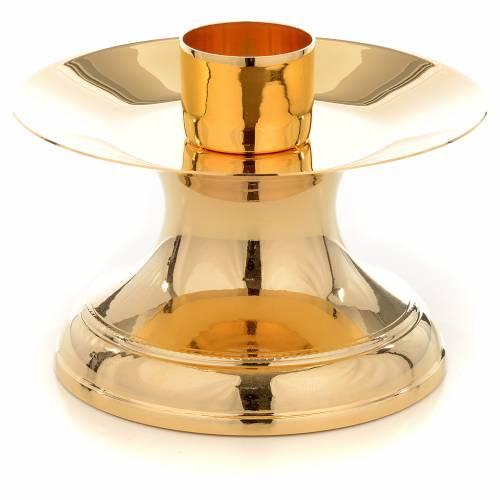 Porta candela altare bossolo 3,8 cm s1