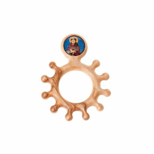 Prayer rosary ring Saint Frencis s2