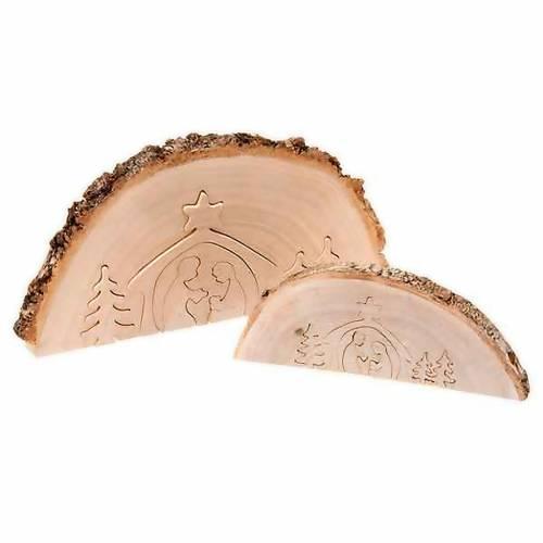 Presepe in legno ad incastro s1