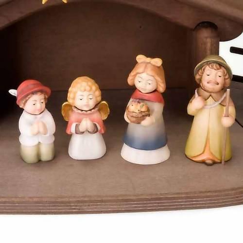 Presepe Bambini legno con magneti s2