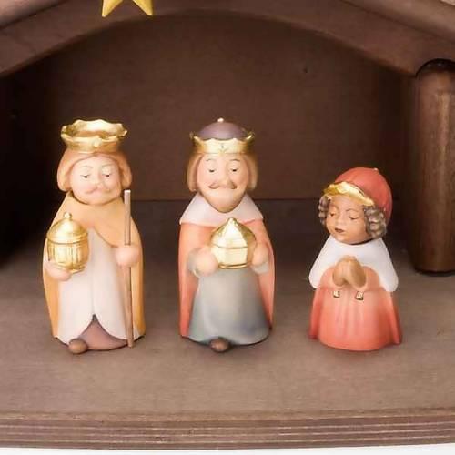Presepe Bambini legno con magneti s4