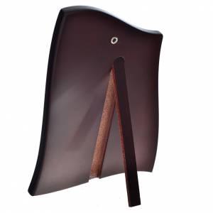 Quadro sagomato Madonna Bambino lastra 20x28cm s3