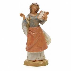 Ragazza con lira 12 cm Fontanini s1