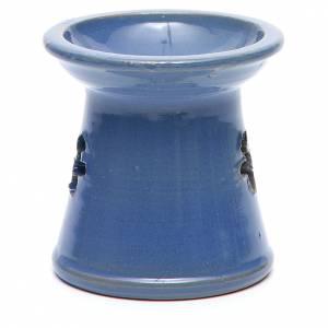 Räucherschalen: Räucherschale fuer Duftstoffe aus Tonerde