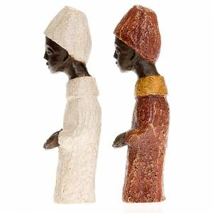 Re africano Presepe piccolo Bethléem s4
