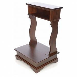 Ambones, reclinatorios, mobiliario religioso: Reclinatorio en haya
