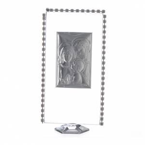 Regalos y Recuerdos: Regalo Cuadro para apoyar Sagrada Familia strass 12x6 cm
