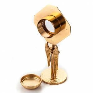Reliquiario dorato con angelo s6