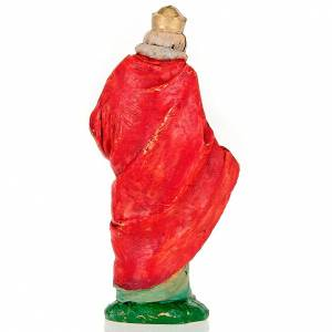 Figuras del Belén: Rey mago oro 13 cm.