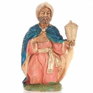 Figuras del Belén: Rey mulato 10 cm.