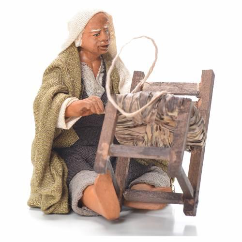 Riparatore sedie seduto 12 cm presepe Napoli s1