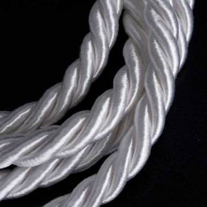 First Communion Albs: Rope cincture for alb with tassel