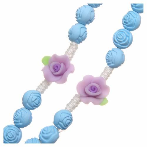 Rosario Medjugorje roselline azzurre s3