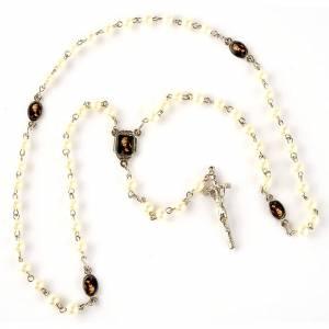 Rosario simil perla immagini (diam. 20) s3