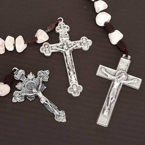 Rosarios Medjugorje piedra cruces diferentes s6