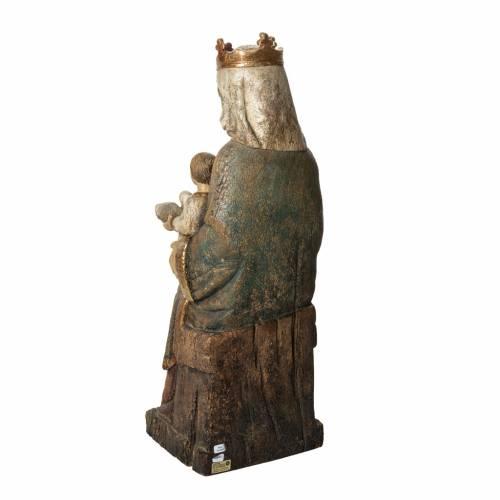 Rosay Virgin statue, 60 cm in painted wood, Bethléem s4