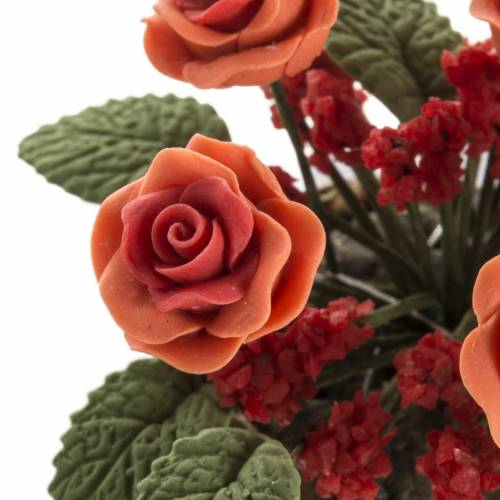 Roses miniature crèche Noel s3