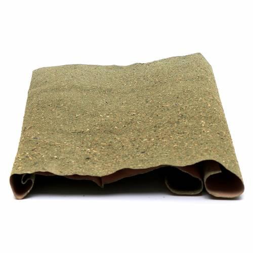 Rotolo carta per prato per presepe fai da te 50x70 cm s2