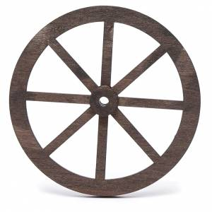 Ruota presepe legno cm 10 s2