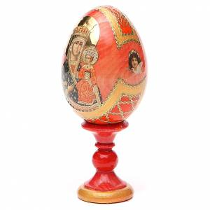 Russian painted eggs: Russian Egg Chenstohovskaya Fabergè style 13cm