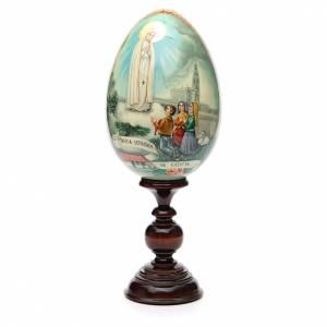 Russian Egg HAND PAINTED Fátima 36cm s1