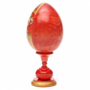 Russian Egg Pantocrator découpage, Fabergè style 20cm s3
