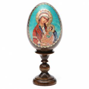 Russian Egg Placate my sadness découpage 13cm s1