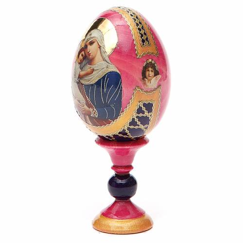 Russian Egg Protectrice of the Fallen Fabergè style 13cm s2
