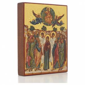 Russian hand-painted icons: Russian icon, Assumption of Mary 14x11cm