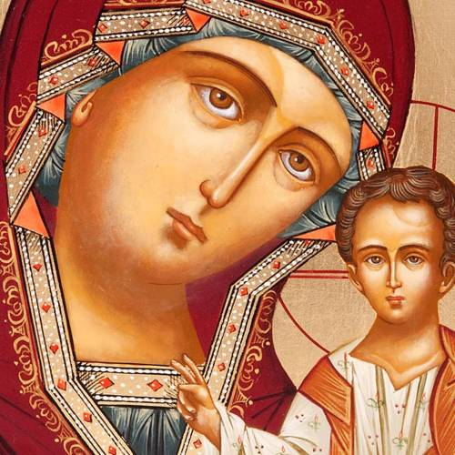 Russian icon, Our Lady of Kazan s4