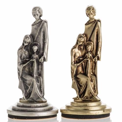 Sacra Famiglia calamita h 6cm s1