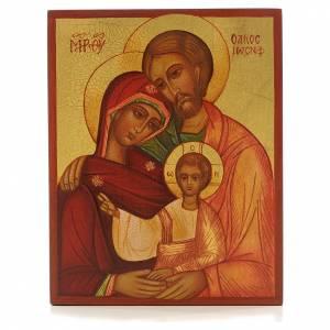 Icona russa Sacra Famiglia Russia s1