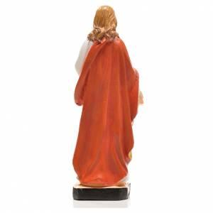 Sacré Coeur de Jésus 12cm image prière en Français s2