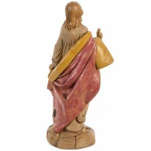 Sacré Coeur de Jésus 30 cm Fontanini finition bois s4