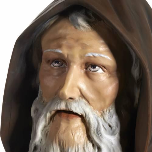 Saint Anthony the Great statue in fiberglass, 160 cm s10