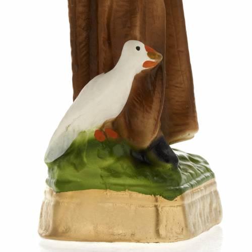 Saint Benedict plaster statue, 20 cm s3