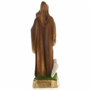 Saint Benedict plaster statue, 20 cm s4