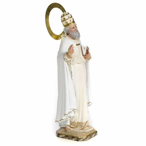 Saint Clement 30cm, wood paste, elegant decoration s2