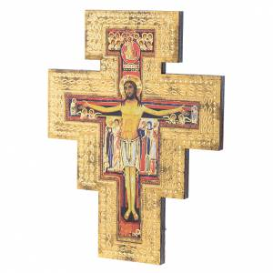 Wooden crucifixes: Saint Damiano crucifix