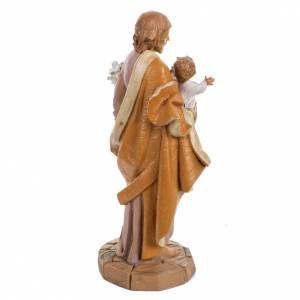 Saint Joseph 30 cm Fontanini finition bois s4