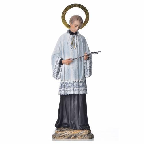 Saint Louis de Gonzague 50 cm pâte à bois fin. élégante s1